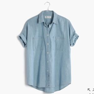 Madewell Chambray Courier shirt
